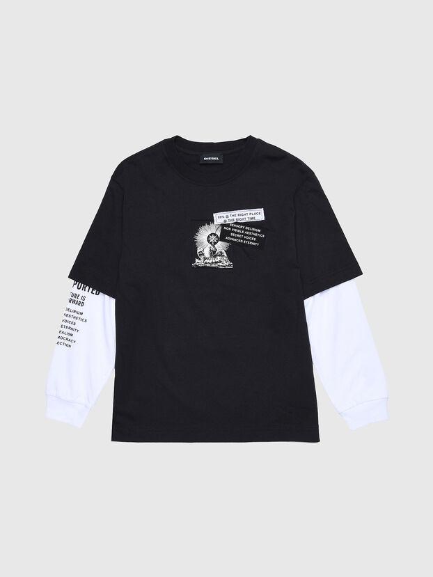TSHOOTYA OVER, Black/White - T-shirts and Tops