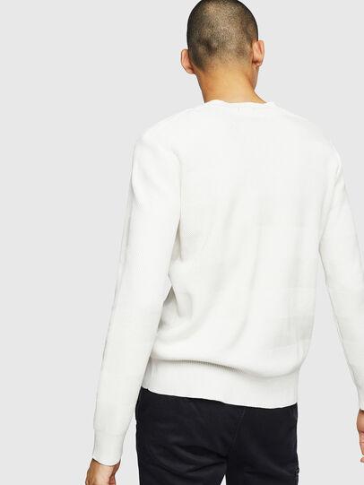 Diesel - K-STLE, White - Knitwear - Image 2