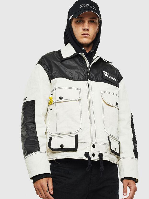 J-KENDY, White/Black - Jackets