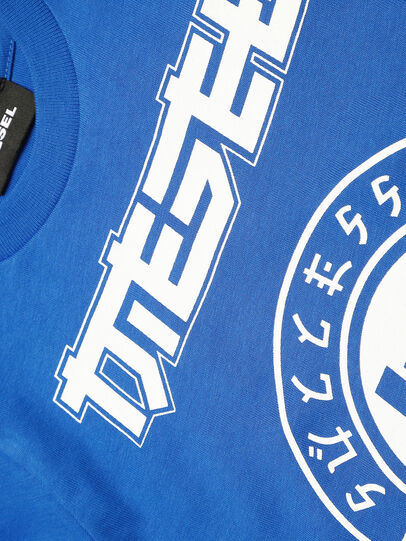 Diesel - TUCOB-R, Blue - T-shirts and Tops - Image 3