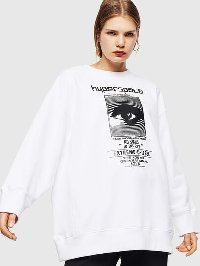 Diesel - F-AKUA, White - Sweaters - Image 1