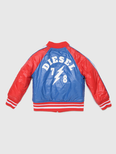 Diesel - JBRANB, Blue/Red - Jackets - Image 2
