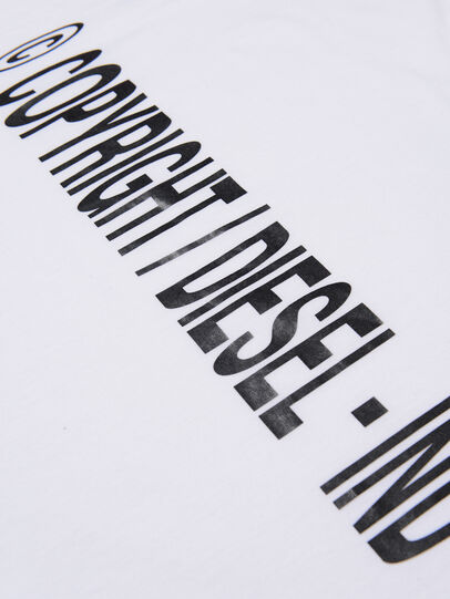 Diesel - TILCOPY, White - T-shirts and Tops - Image 3