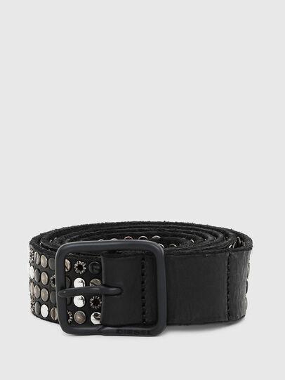 Diesel - B-GIO, Black - Belts - Image 1