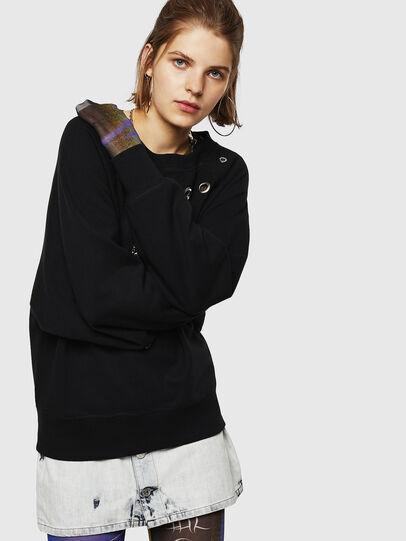 Diesel - F-HENNY-B, Black - Sweaters - Image 3