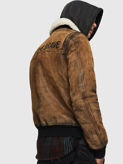 Diesel - L-OIUKIRO,  - Leather jackets - Image 7