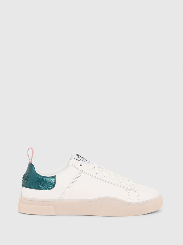 S-CLEVER LOW LACE W, White/Green - Sneakers