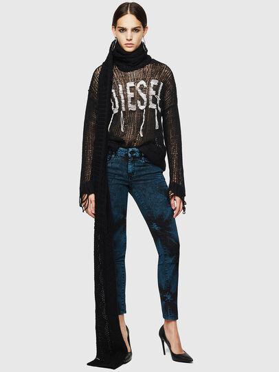 Diesel - D-Ollies JoggJeans 084AF, Black/Dark grey - Jeans - Image 7
