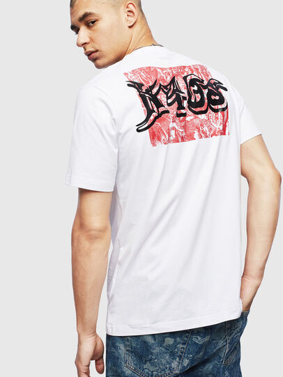 Diesel - T-JUST-T31, White - T-Shirts - Image 2