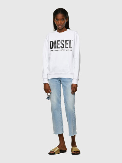 Diesel - F-ANGS-ECOLOGO, Black/White - Sweaters - Image 4