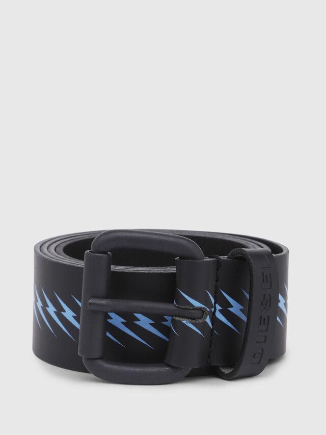 Diesel - B-AGNA, Black/Blue - Belts - Image 1