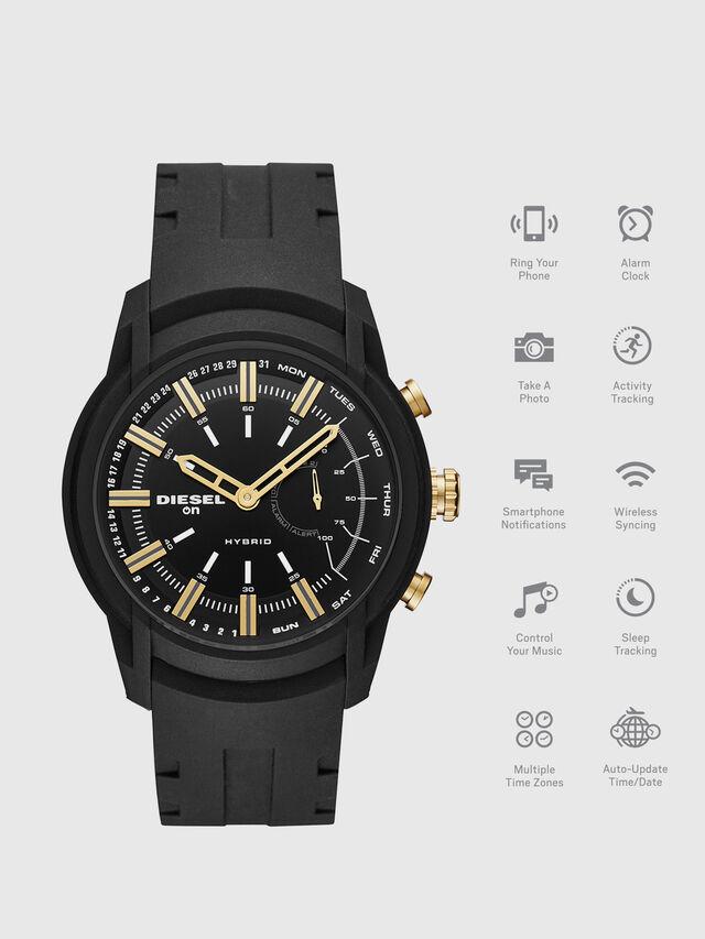 Diesel - DT1014, Black - Smartwatches - Image 1