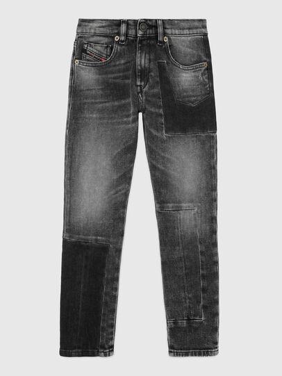 Diesel - D-STRUKT-GO-J, Black/Dark grey - Jeans - Image 1