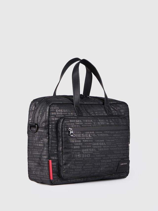 Diesel - F-DISCOVER BRIEFCASE, Black - Briefcases - Image 2