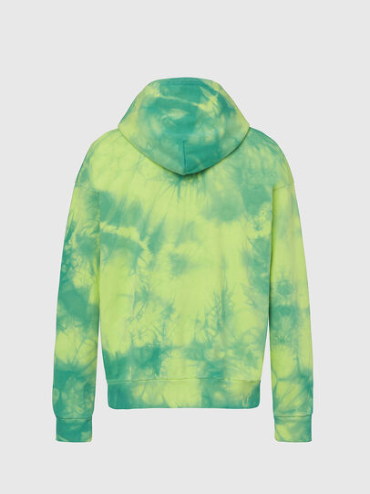 Diesel - S-ALBYEL-X4, Green/Yellow - Sweaters - Image 2