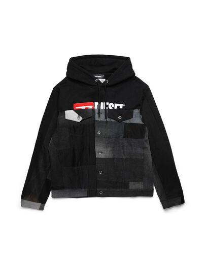 Diesel - D-BNHILL55, Black - Denim Jackets - Image 1