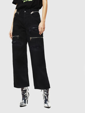 Widee 069JA, Black/Dark grey - Jeans