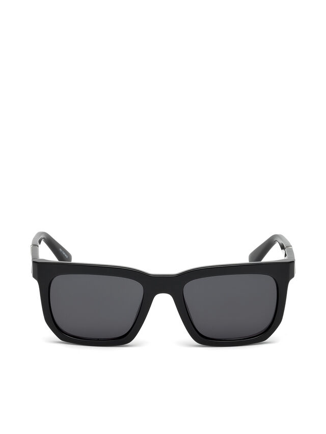 Diesel - DL0254, Black - Sunglasses - Image 1