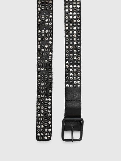 Diesel - B-GIO, Black - Belts - Image 3