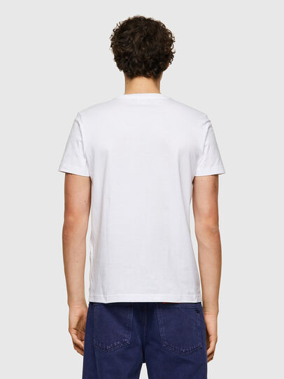 Diesel - T-DIEGOS-K22, White - T-Shirts - Image 2