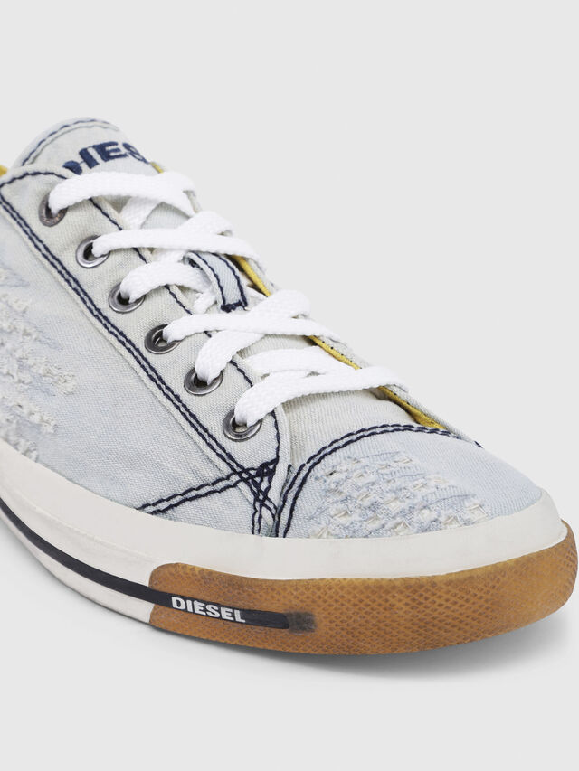 Diesel - EXPOSURE IV LOW  W, Light Blue - Sneakers - Image 5