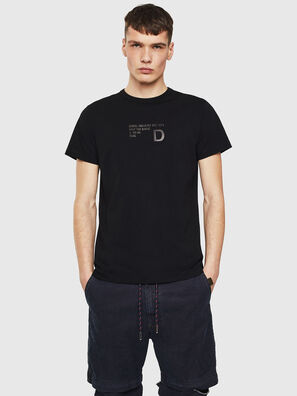 T-DIEGO-S5, Black - T-Shirts