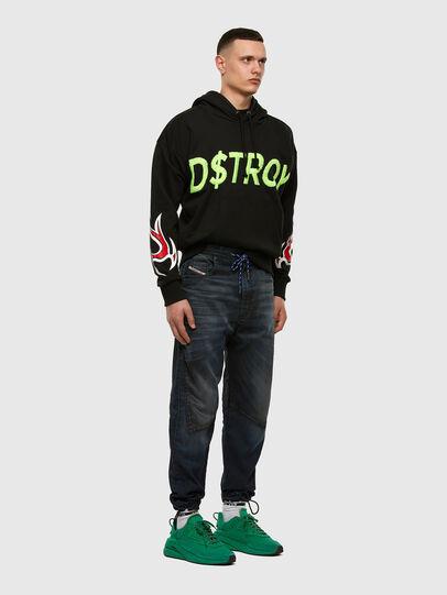 Diesel - D-Skint JoggJeans 069PE, Dark Blue - Jeans - Image 7