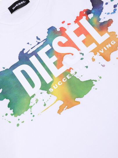 Diesel - TDOSKY, White - T-shirts and Tops - Image 3