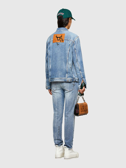 Diesel - CL-D-BIL, Light Blue - Denim Jackets - Image 7