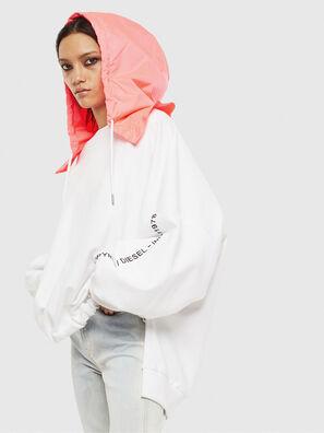 F-JUSTIN, White - Sweaters