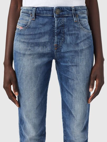 Diesel - Babhila Z09PK, Medium blue - Jeans - Image 3