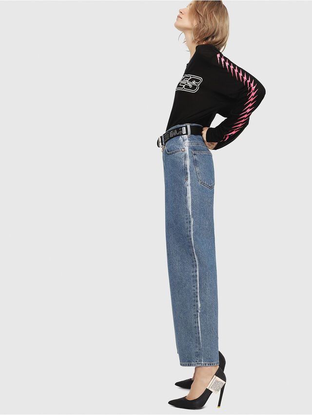 Diesel - Widee 0077V, Medium blue - Jeans - Image 4