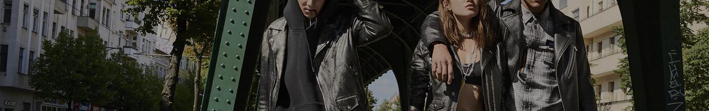 Leather Jackets Man Diesel