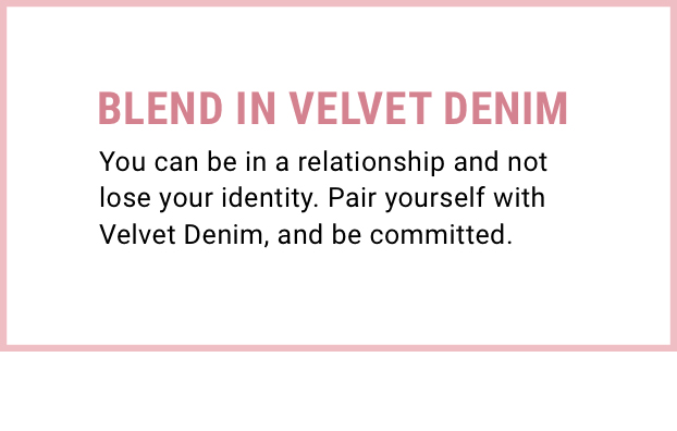 Velvet Denim