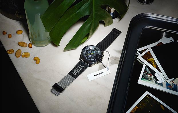 Logo Mesh Watches