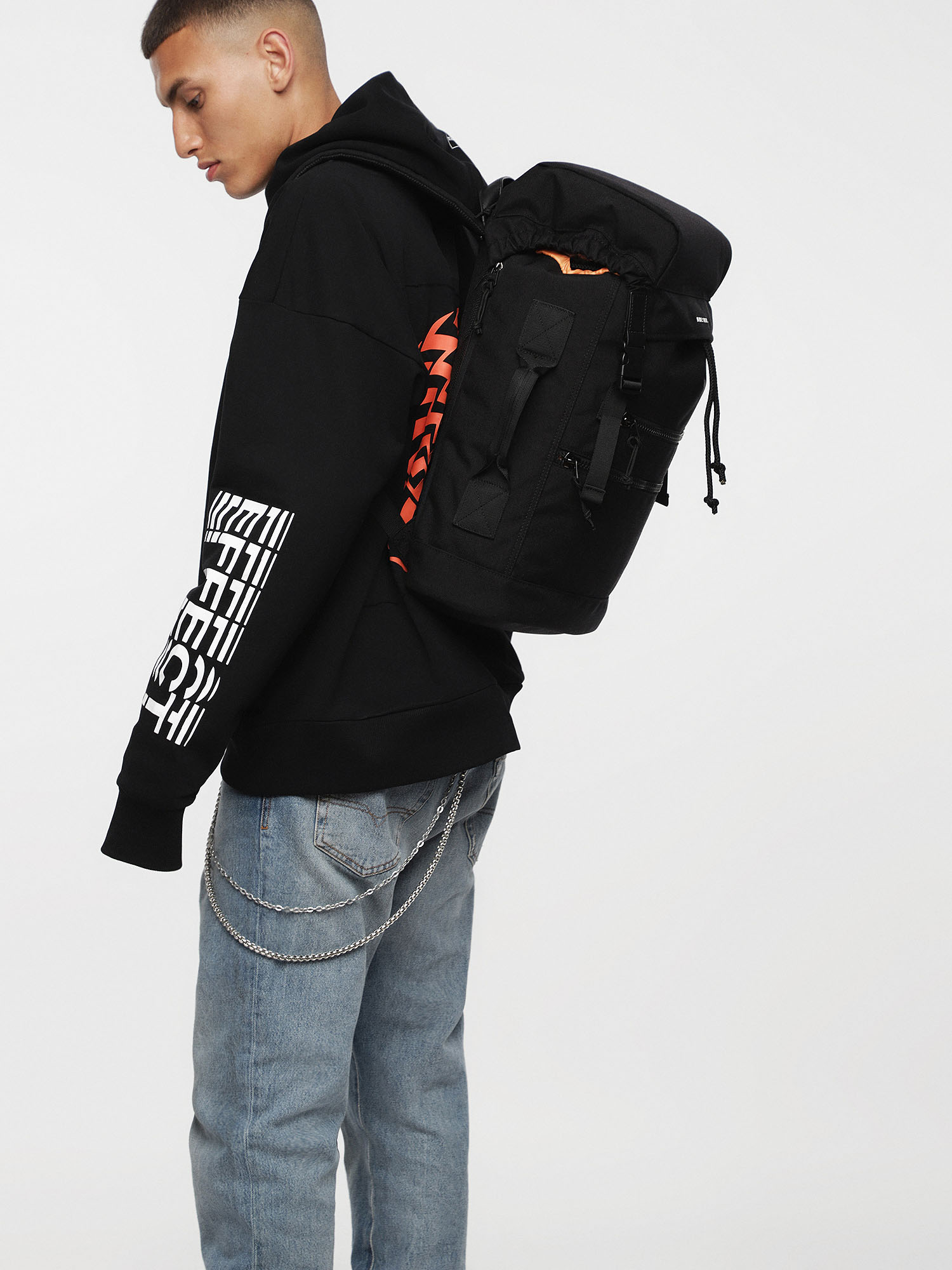 Diesel - F-URBHANITY BACK II,  - Backpacks - Image 5