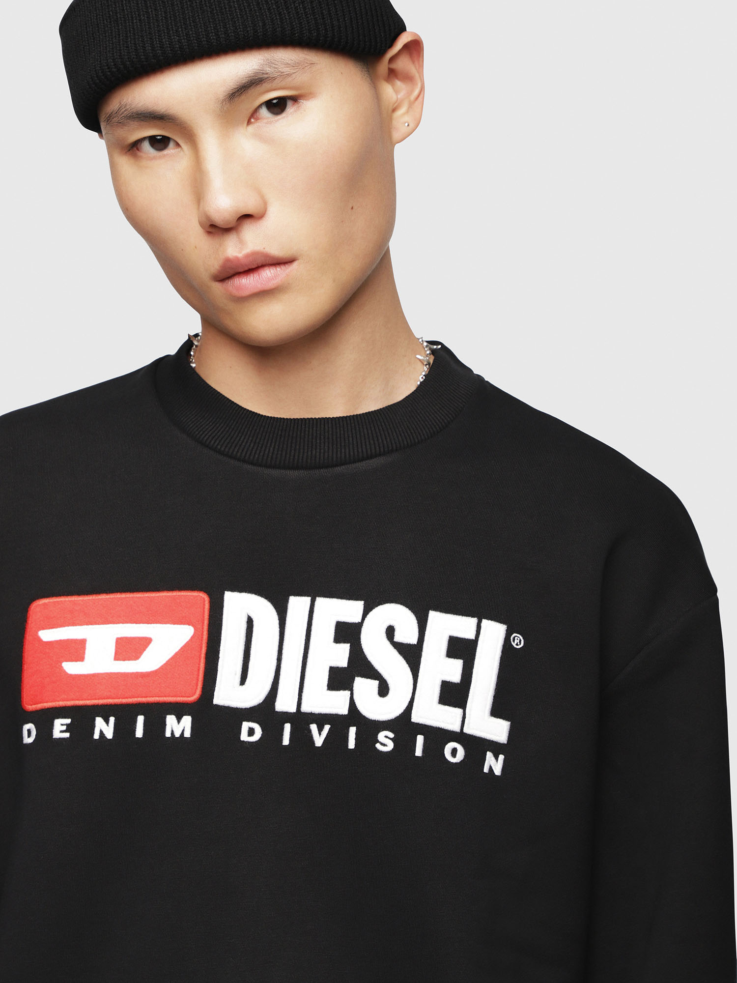 Diesel - S-CREW-DIVISION,  - Sweaters - Image 3