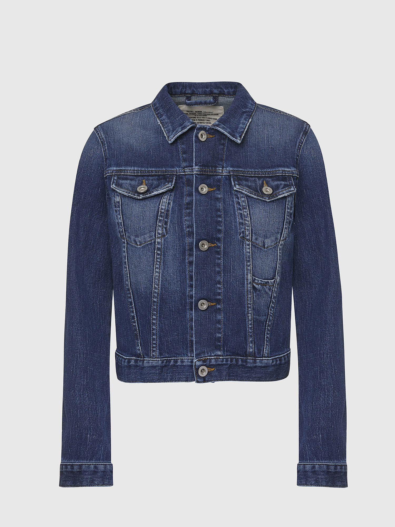 Diesel - DE-LIMMY,  - Denim Jackets - Image 1