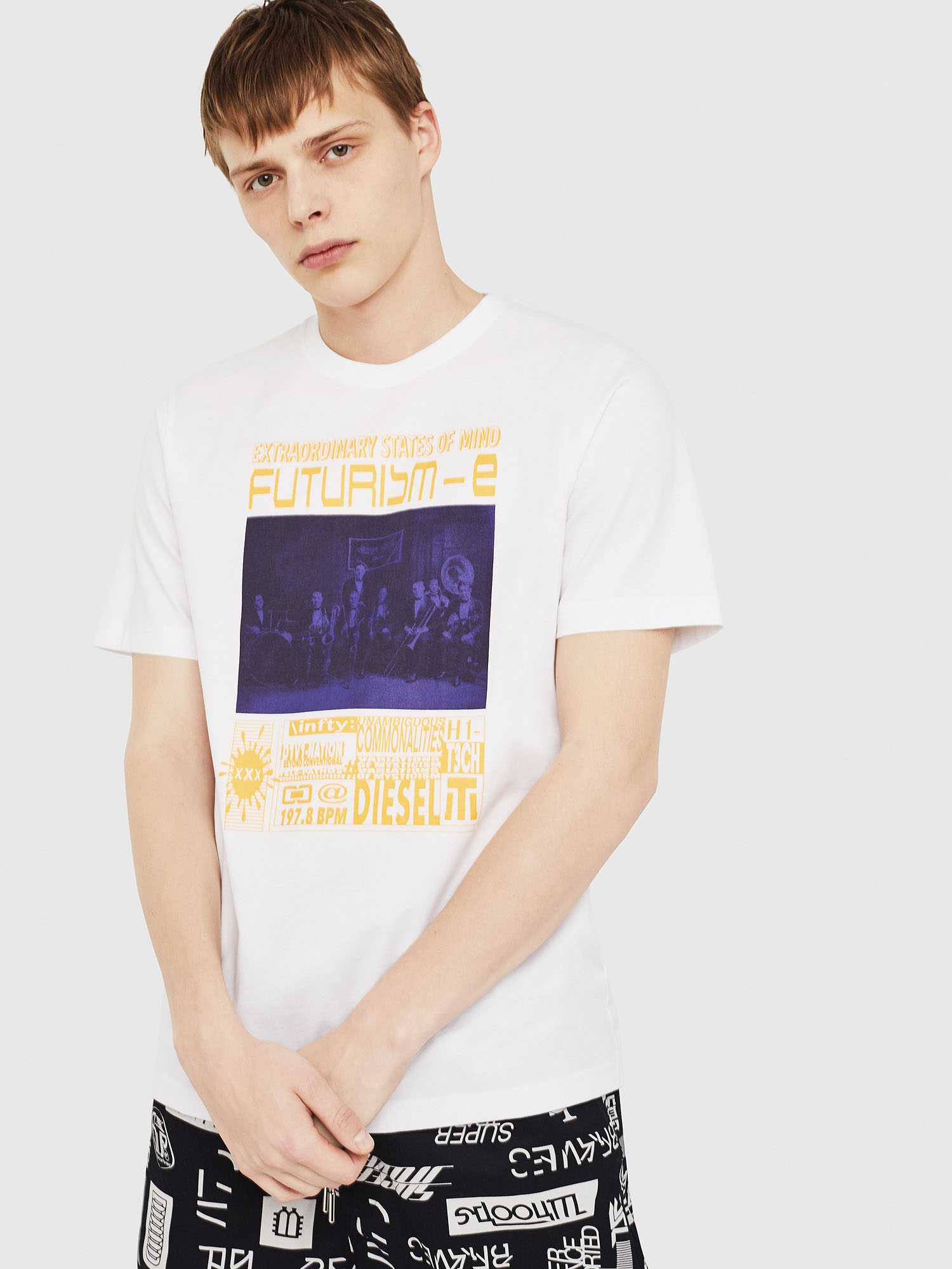Diesel - T-JUST-Y16,  - T-Shirts - Image 1