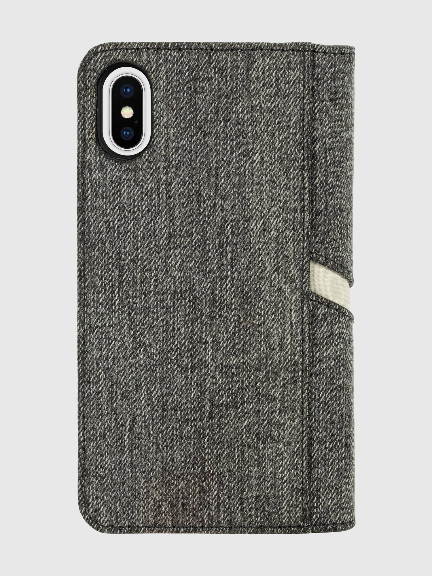 Diesel - DIESEL 2-IN-1 FOLIO CASE FOR IPHONE XS & IPHONE X,  - Flip covers - Image 2